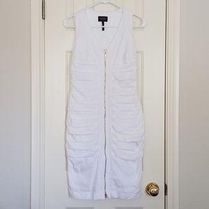 NWOT white linen dress